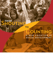 From Shouting to Counting: a new frontier in Social Development (English)